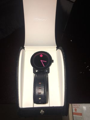 MOVADO bold watch pink