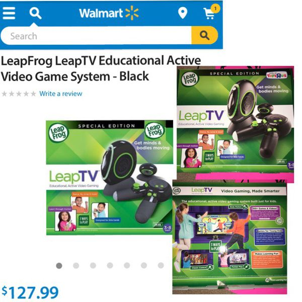LIKE NEW LIMITED EDITION TOYS R US LEAPFROG LEAP TV IN BLACK Baby - Babies r us cincinnati