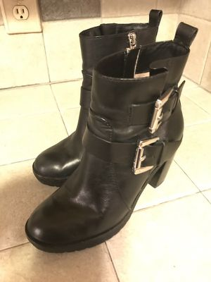 Michael Kors Leather Boots, Size 5