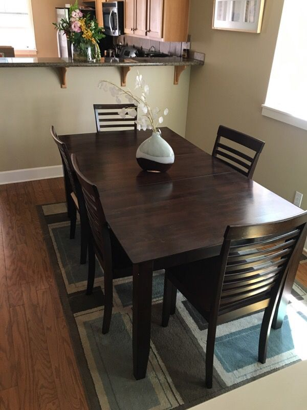 Dining Room Table And 5 Chairs Furniture In Seattle WA OfferUp