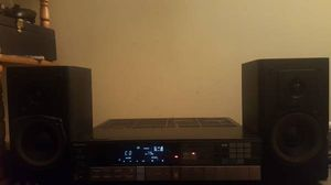 Very nice Sony Digital 4 Channel Receiver and KLH Speaker Combo!