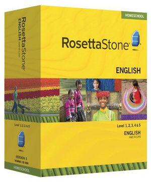 Rosetta Stone Levels 1,2,3,4,5