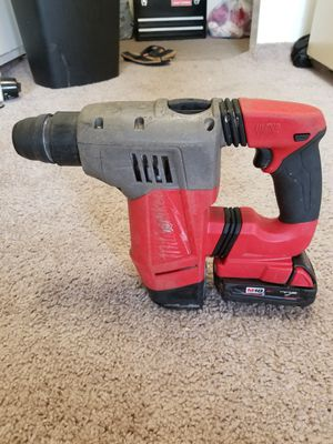 Hammer drill milwuakee fuel brushless no cargador