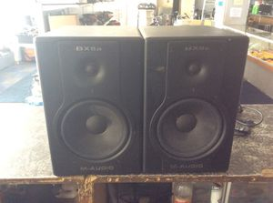 M-AUDIO studiophile BX8A powered speakers