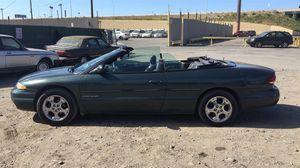2000 Chrysler Sebring convertible 64k miles