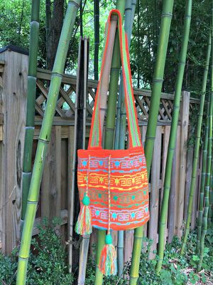 Authentic handmade Colombian Wuayu Bag