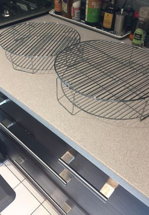 Nu-wave cooking racks - like new