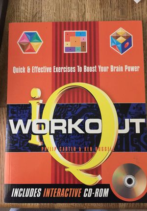 Book- IQ Workout incl. interactive CD