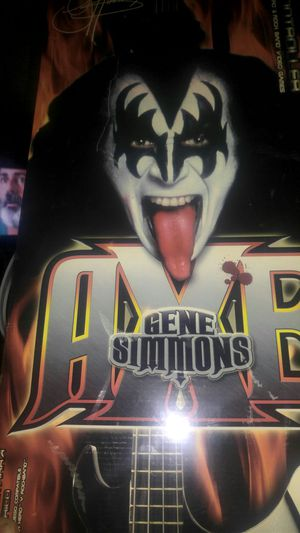 Gene Simmons axe guitar for wii ps2 and ps3