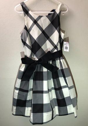 NEW Ralph Lauren girl Dress Size 7 - black and beige color