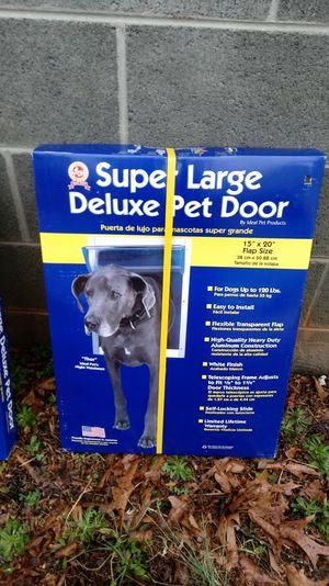 Pet Door Xlg 15X20
