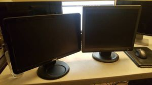 Two computer pc monitors for only $30