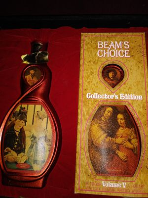 Beams Choice Collector Bottles (empty)