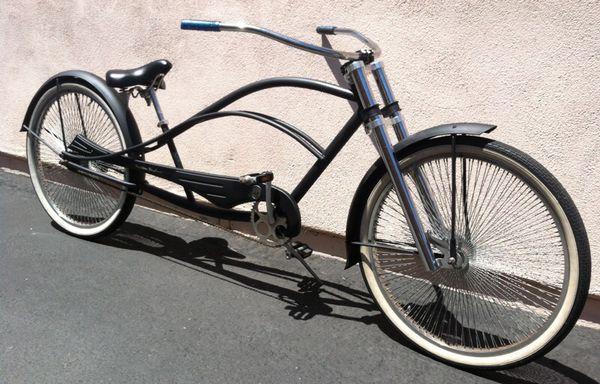 Kustom Kruiser Roadster Stretch Beach Cruiser Bicycles In