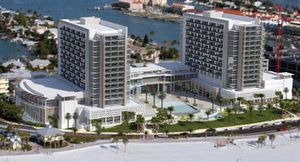 New wyndham resort clearwater beach