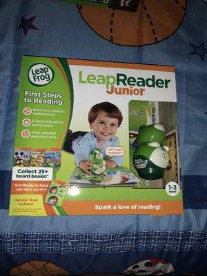 LeapReader Jr with extra two sets of cards