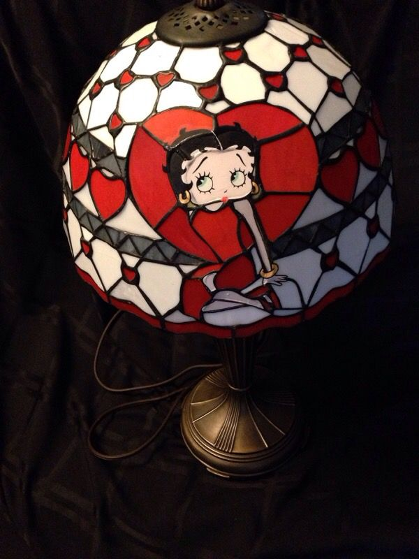 Betty Boop Stained Tiffany Style Lamp (Antiques) in San Jose, CA ...