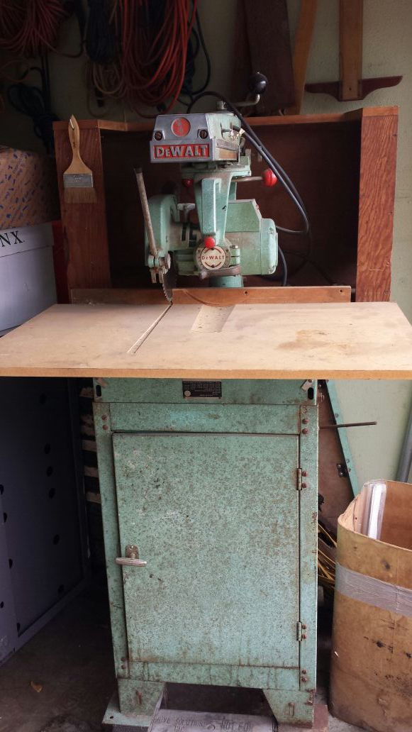 Dewalt radial arm saw. 925H (Tools & Machinery) in Grand Prairie ...