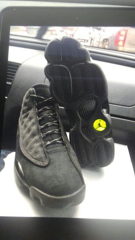 new style 28902 bbba4 Jordan retro 13s black cat
