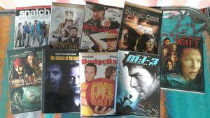 Set of 9 DVDs