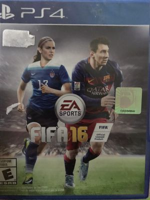 FIFA 16 Sony PS4 game