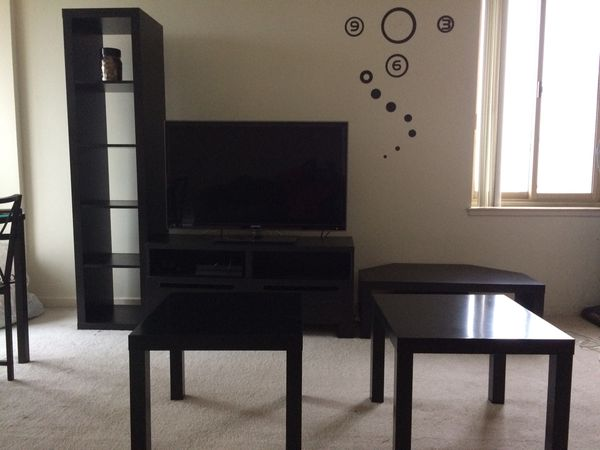 Combo Deal Tv Unit Shelf Tv Table Low Table Two Coffee Tables