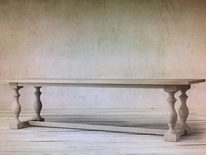 Brand new RESTORATION HARDWARE rectangular dining table