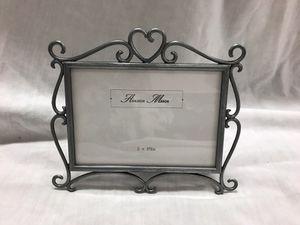 Ashleigh Manor Decorative Silver Metal Frame 5x3.5