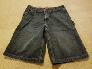 Preowned Size 12 Levis blue jean shorts boys