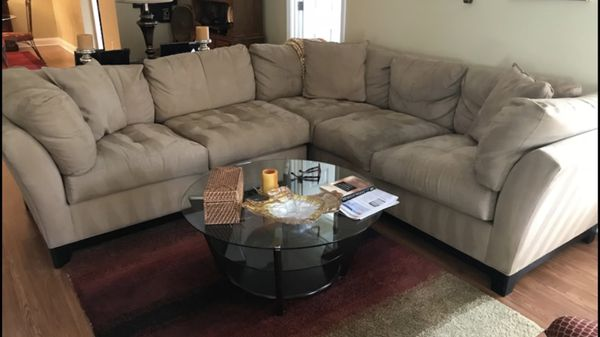 Cindy Crawford sectional couch Furniture in Atlanta GA