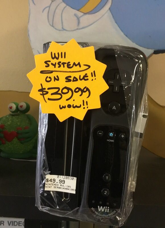 WII Black Edition System
