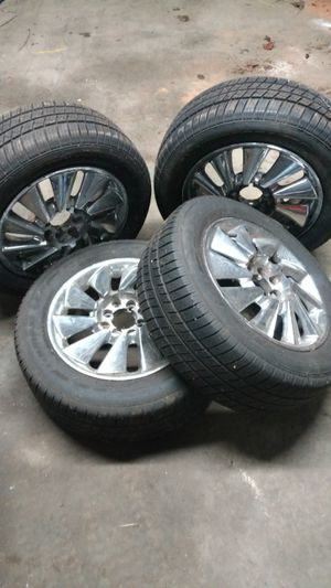 4 tires with rims. 195-60/R15.