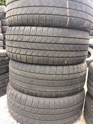 Set (4) Used Tires 275-55-20 Free Mount & Balance