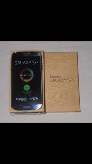 Samsung Galaxy S4 - Factory Unlocked - Comes w/ Box + Accessories
