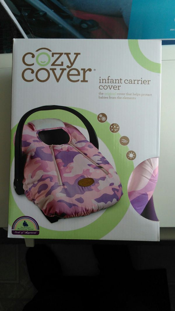 Cozy cover car seat cover (used) (Baby & Kids) in Miamisburg, OH