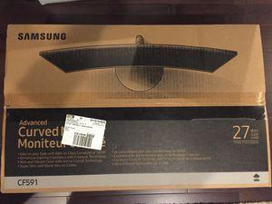 "Samsung CF591 curved 27"" monitor C27F591"