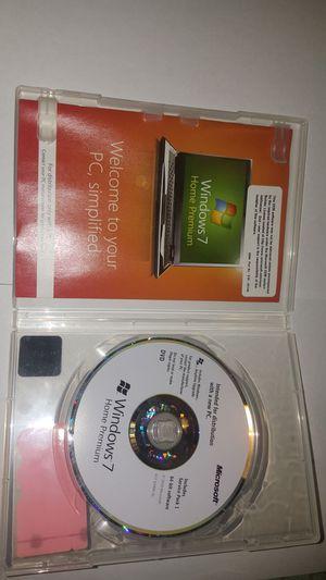 Window 7 home premiun 64 bit software