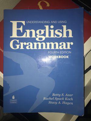 English grammar workbook fourth edition esl book
