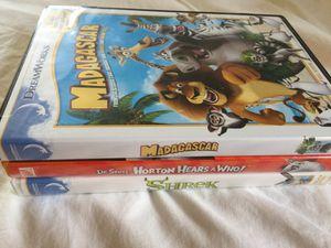 Animated Movies DVD lot