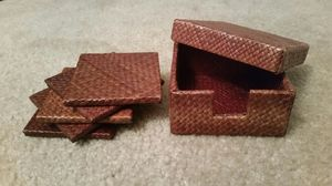 Set of 5 Coasters + Box
