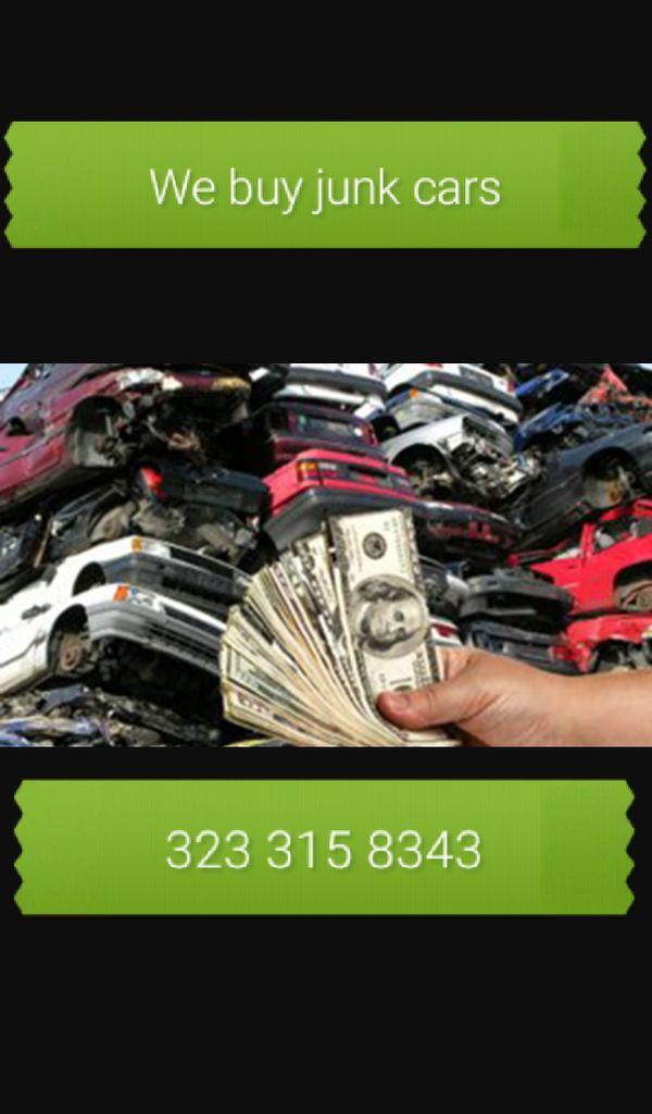 We buy all junk vehicles (Cars & Trucks) in Los Angeles, CA