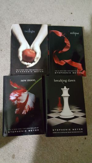 Hard back twilight books