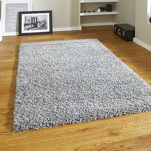 """NEW - Rug Carpet, Gray color. Size: 4 ' 4 """"x6 ' 5 """". BRAND NEW, still on the original package!! It's my wedding gift, don't know the brand. **FIRM"""