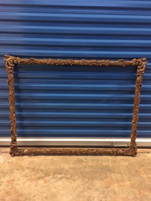 Beautiful carved frame for canvas or mirror