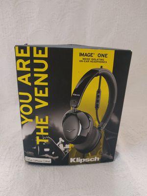 Klipsch noise-isolating headphones