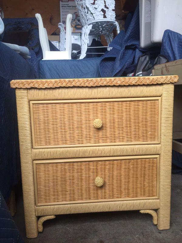 vintage henry link wicker furniture 6 pieces furniture