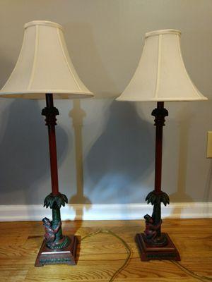 Decorative monkey lamps