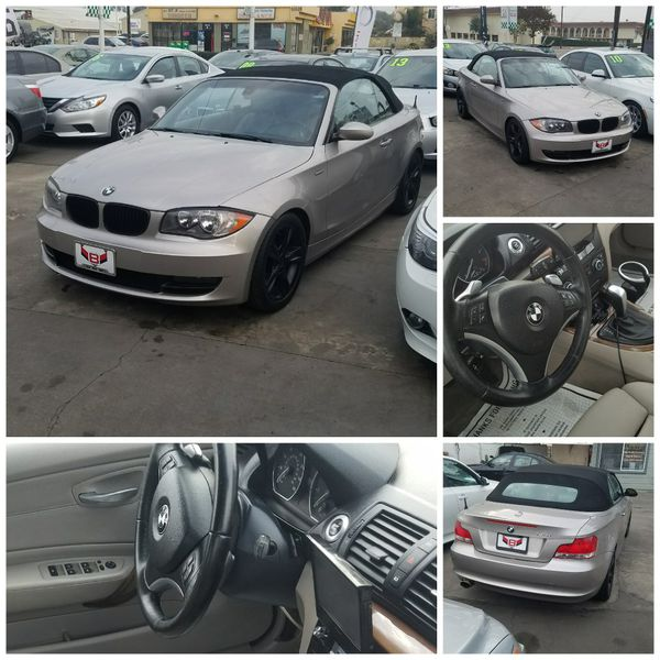 2008 BMW 128i convertible clean title low miles leather fully loaded ...