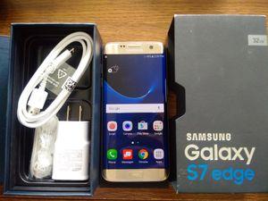 Galaxy S7 Edge {32GB} UNLOCKED {like NEW} Gold Platinum