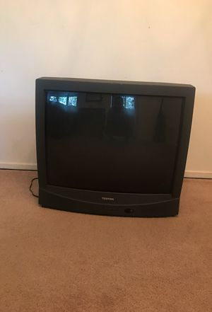 Free TV must pick up. Heavy so you will need help.